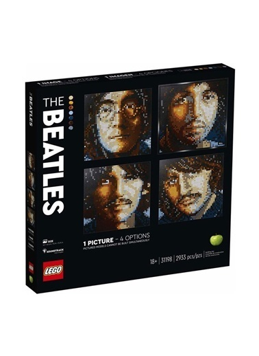 Lego  Art Deco Art The Beatles 31198 Renkli